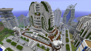 Minecraft Cool Buildings With New Topaz Blocks